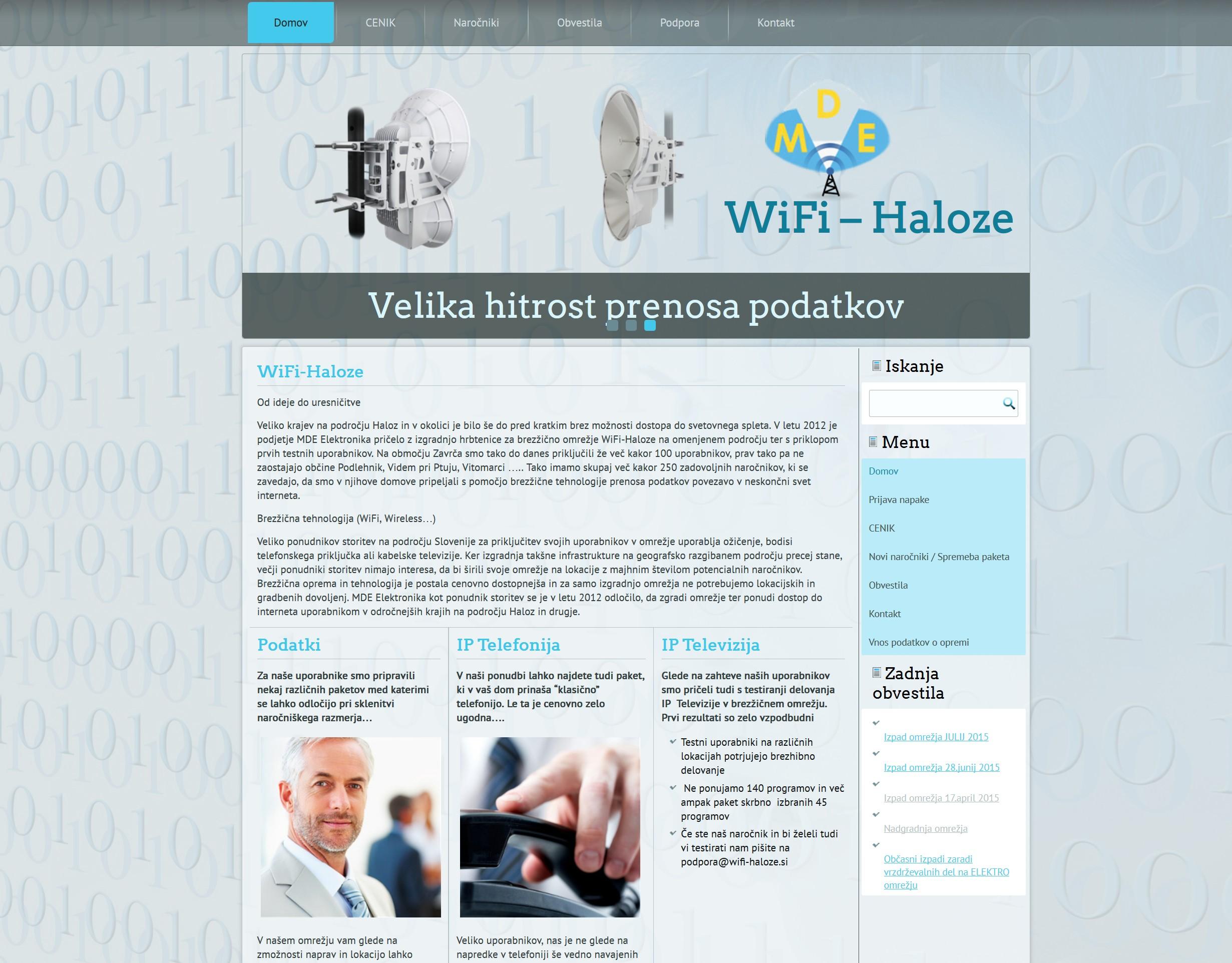 WiFi-Haloze